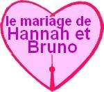 le mariage de Hannah et Bruno