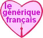 le générique français